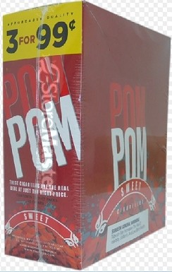 Pom Pom Cigarillos Sweet Pouch 3 for 99