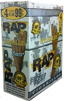 RAP Cigarillos Zero Pouch 15/4 Pre-Priced