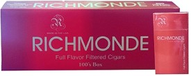 Richmonde Filtered Cigars Full Flavor 100's Box