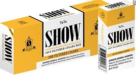 Show Filtered Cigars TaTa 100's Box
