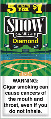 Show Cigarillos Diamond 5 for 1