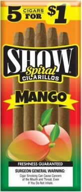 Show Cigarillos Mango 5 for 1