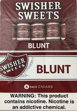 Swisher Sweets Blunt Cigars 105 Pack