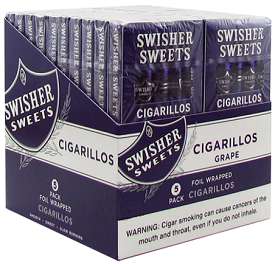 Swisher Sweets Cigarillo Grape Twin Pack