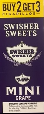 Swisher Sweets Cigarillos Mini Pack Grape