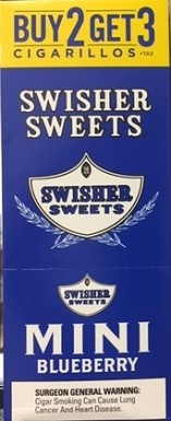 Swisher Sweets Cigarillos Mini Pack Blueberry
