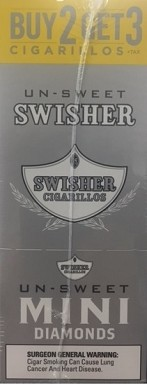 Swisher Sweets Cigarillos MINI Foil Pack Diamond
