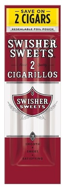 Swisher Sweets Cigarillos Foil Pack Regular