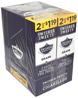 Swisher Sweets Cigarillos Foil Pack Grape