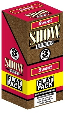 Show Blunt Size 3 Wraps Sweet Flat Pack
