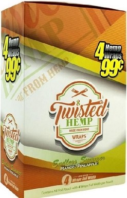 Twisted Hemp Mango-Pineapple 4 for 99