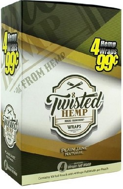Twisted Hemp Plain Jane Natural 4 for 99