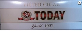Today Gold Filtered Cigars