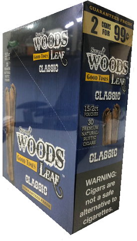 Good Times Sweet Wood Leaf Classic Cigars 2 for 99