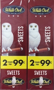 White Owl Cigarillos Foil Fresh Sweet