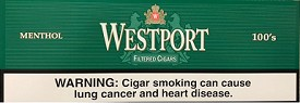 Westport Filtered Cigars Menthol