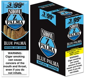 Show Z Palma Blue Palma cigarillos 3 for 99